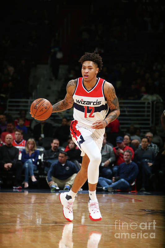 Nba Pro Basketball Art Print featuring the photograph Kelly Oubre by Ned Dishman