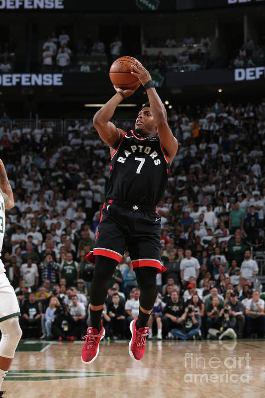 Playoffs Art Print featuring the photograph Kyle Lowry by Gary Dineen