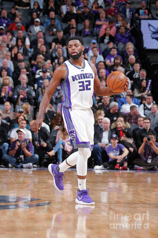 Nba Pro Basketball Art Print featuring the photograph Tyreke Evans by Rocky Widner