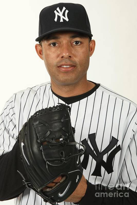 Media Day Art Print featuring the photograph Mariano Rivera by Nick Laham