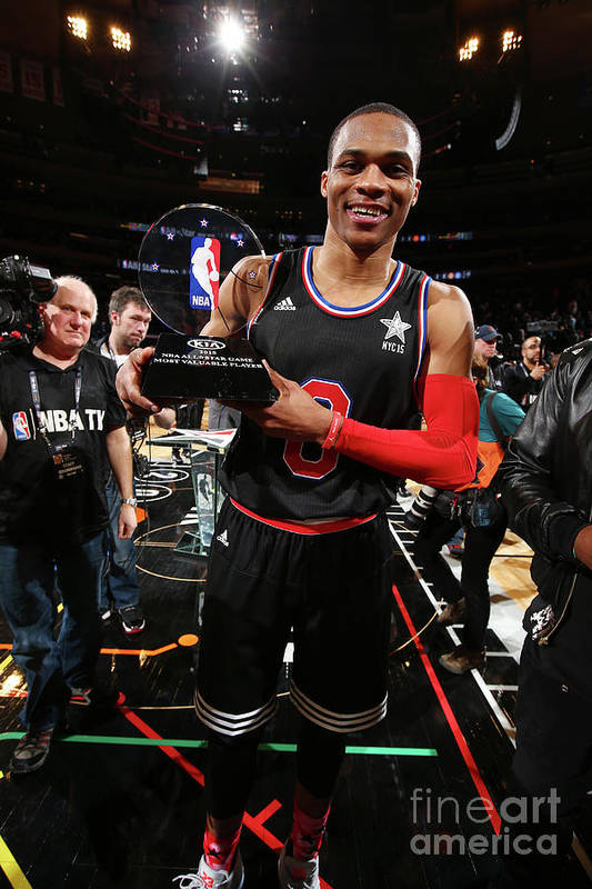 Event Art Print featuring the photograph Russell Westbrook by Nathaniel S. Butler