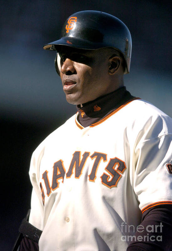 California Art Print featuring the photograph Barry Bonds by Kirby Lee