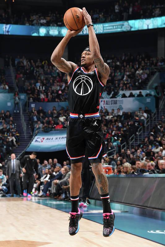 Nba Pro Basketball Art Print featuring the photograph Bradley Beal by Andrew D. Bernstein