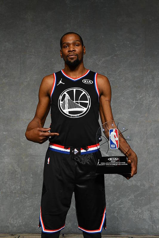 Nba Pro Basketball Art Print featuring the photograph Kevin Durant by Jesse D. Garrabrant