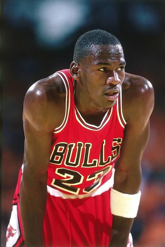 Chicago Bulls Art Print featuring the photograph Michael Jordan by Andrew D. Bernstein