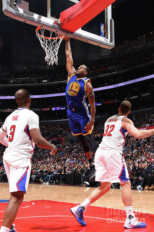 Nba Pro Basketball Art Print featuring the photograph Andre Iguodala by Andrew D. Bernstein