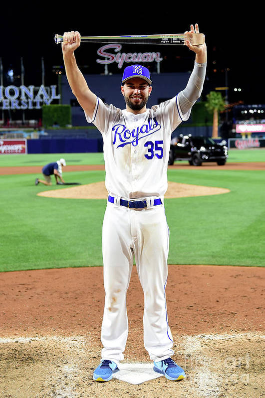 People Art Print featuring the photograph Eric Hosmer by Harry How