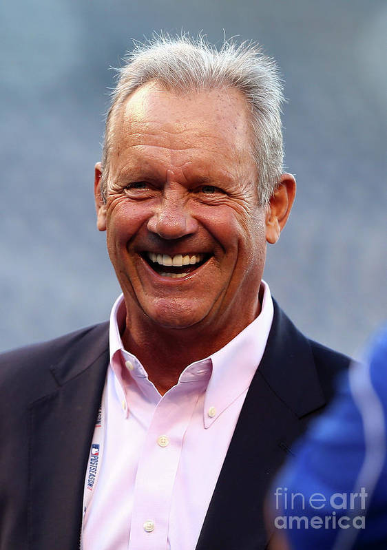People Art Print featuring the photograph George Brett by Elsa