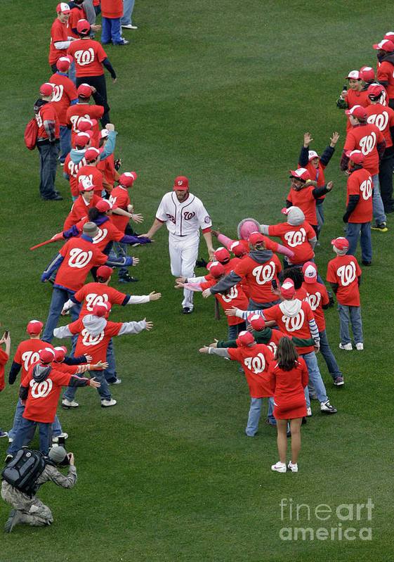 National League Baseball Art Print featuring the photograph Jayson Werth by Rob Carr