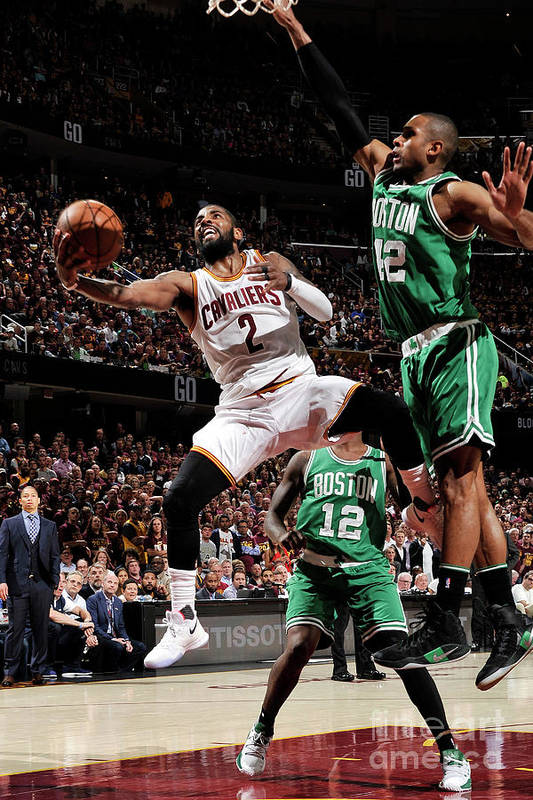 Playoffs Art Print featuring the photograph Kyrie Irving by David Liam Kyle