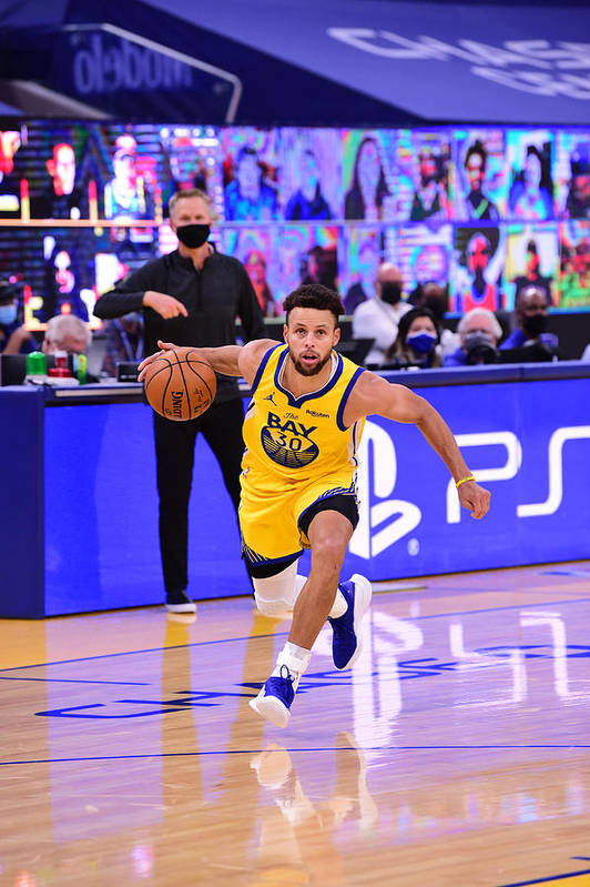 San Francisco Art Print featuring the photograph Stephen Curry by Noah Graham