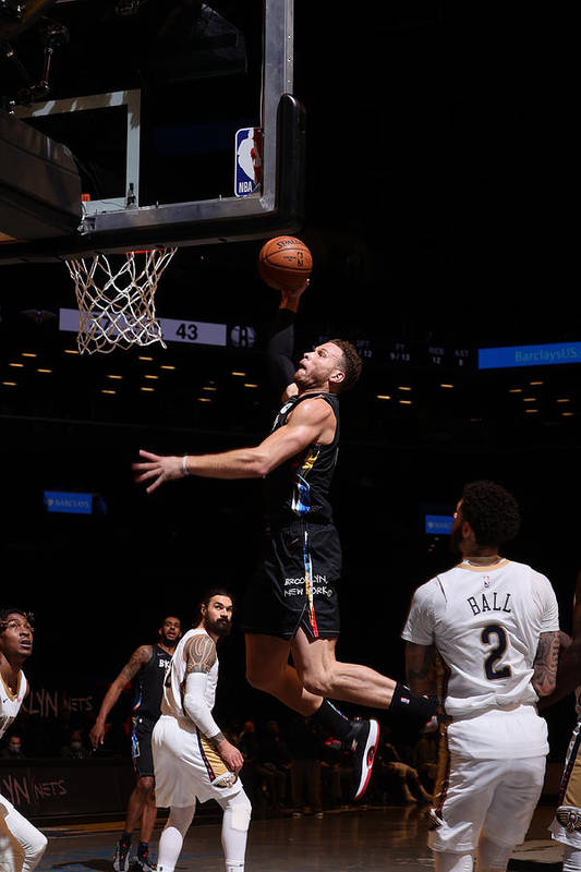 Nba Pro Basketball Art Print featuring the photograph Blake Griffin by Nathaniel S. Butler