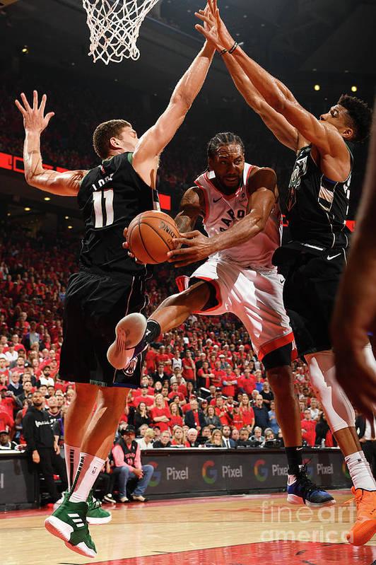 Nba Pro Basketball Art Print featuring the photograph Kawhi Leonard by Ron Turenne