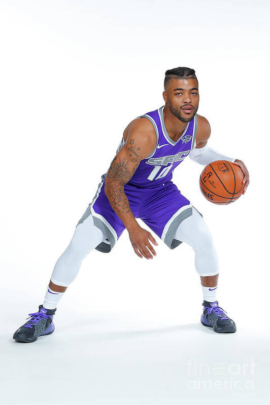 Media Day Art Print featuring the photograph Frank Mason by Rocky Widner