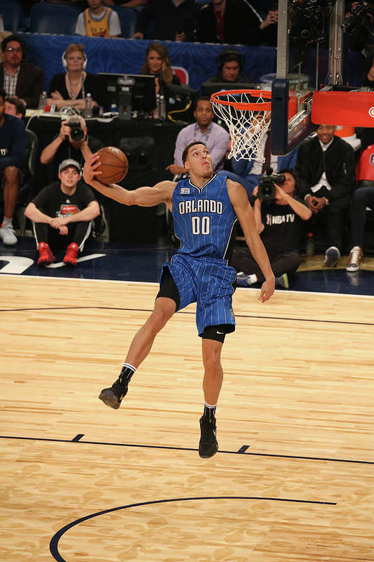 Event Art Print featuring the photograph Aaron Gordon by Gary Dineen