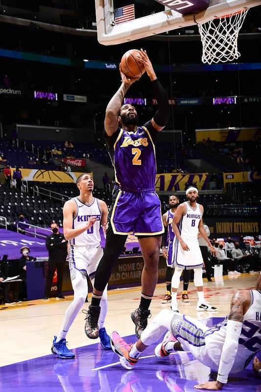 Nba Pro Basketball Art Print featuring the photograph Andre Drummond by Adam Pantozzi