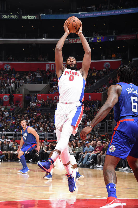 Nba Pro Basketball Art Print featuring the photograph Andre Drummond by Andrew D. Bernstein