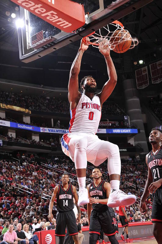 Nba Pro Basketball Art Print featuring the photograph Andre Drummond by Bill Baptist