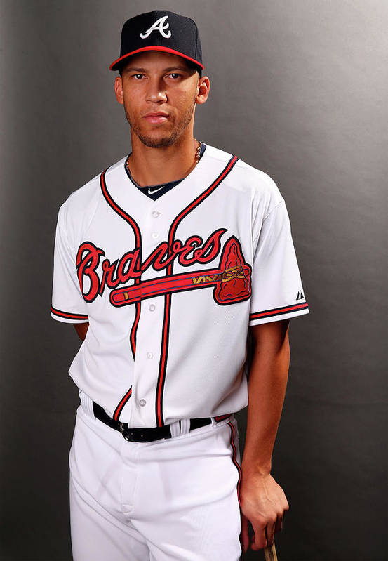 Media Day Art Print featuring the photograph Andrelton Simmons by Elsa
