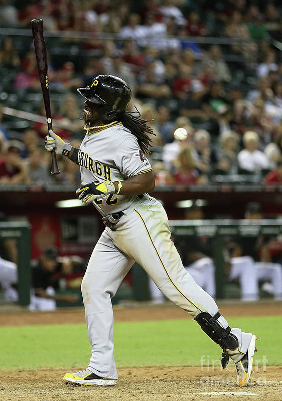 Ninth Inning Art Print featuring the photograph Andrew Mccutchen by Christian Petersen
