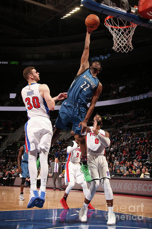 Nba Pro Basketball Art Print featuring the photograph Andrew Wiggins by Brian Sevald