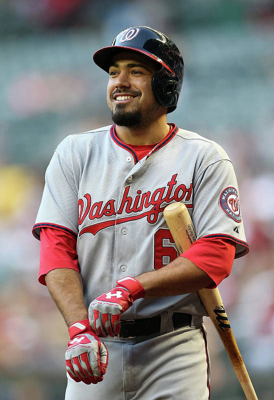 National League Baseball Art Print featuring the photograph Anthony Rendon by Christian Petersen
