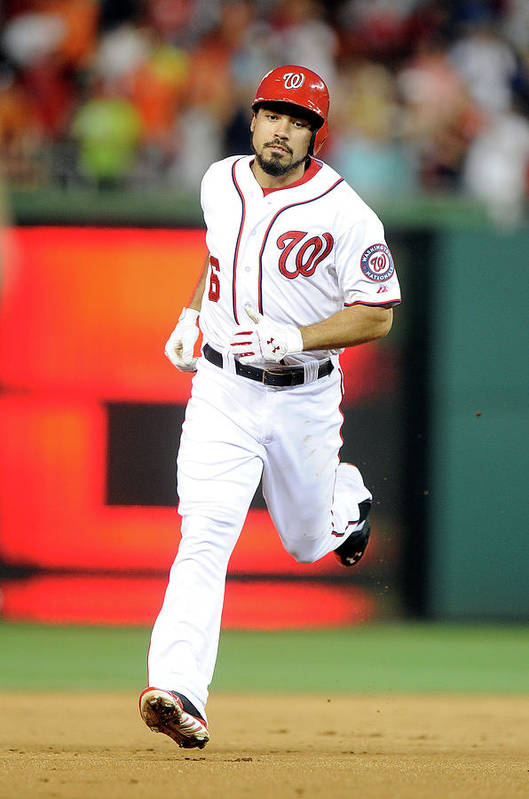 American League Baseball Art Print featuring the photograph Anthony Rendon by Greg Fiume