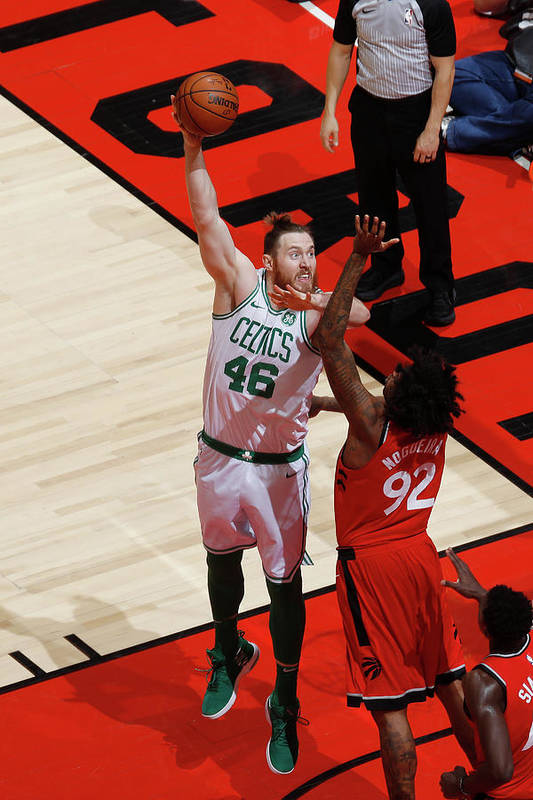 Nba Pro Basketball Art Print featuring the photograph Aron Baynes by Mark Blinch