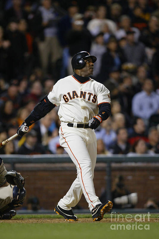 San Francisco Art Print featuring the photograph Barry Bonds by Don Smith