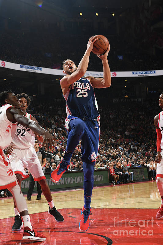 Nba Pro Basketball Art Print featuring the photograph Ben Simmons by Ron Turenne