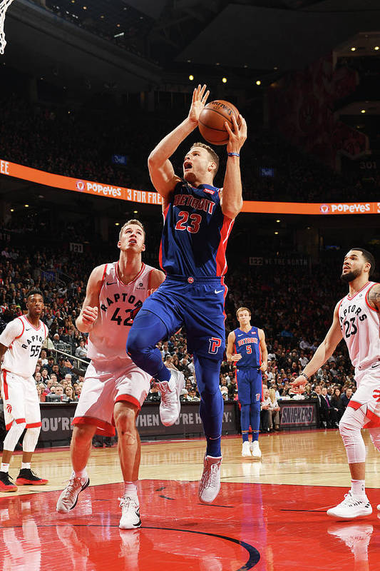 Nba Pro Basketball Art Print featuring the photograph Blake Griffin by Ron Turenne