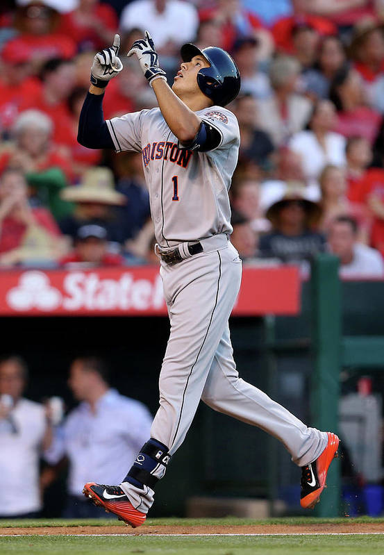 Second Inning Art Print featuring the photograph Carlos Correa by Stephen Dunn