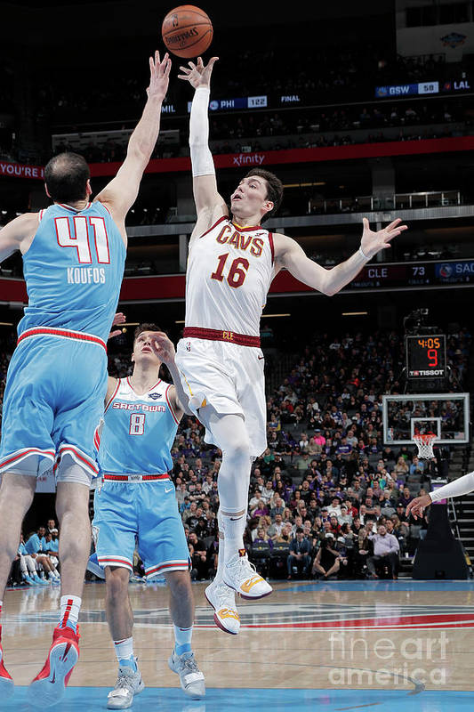 Nba Pro Basketball Art Print featuring the photograph Cedi Osman by Rocky Widner