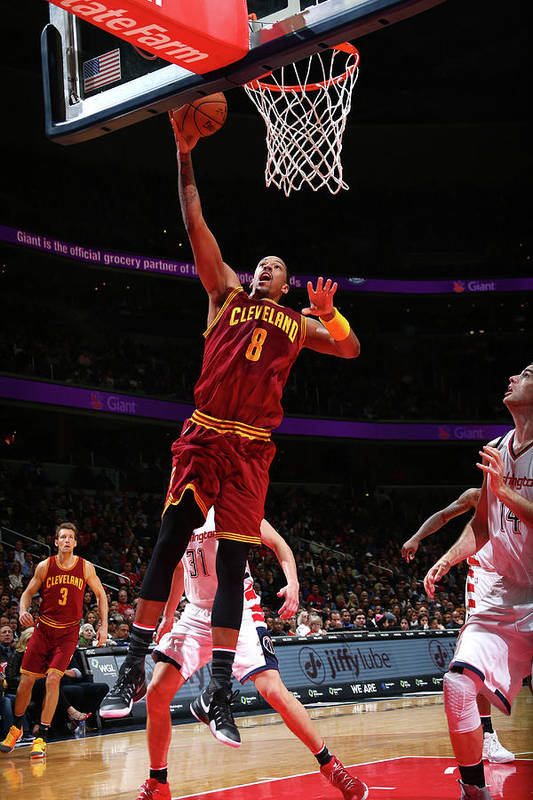 Nba Pro Basketball Art Print featuring the photograph Channing Frye by Ned Dishman