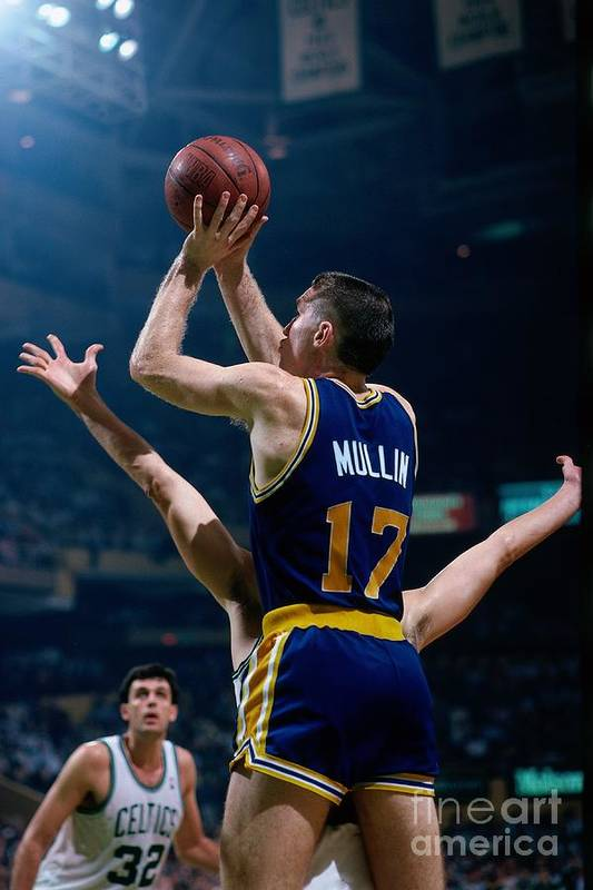 1980-1989 Art Print featuring the photograph Chris Mullin by Dick Raphael