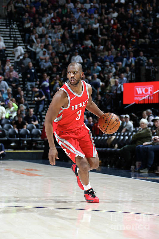 Nba Pro Basketball Art Print featuring the photograph Chris Paul by Melissa Majchrzak