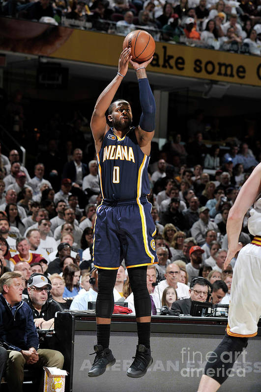 Playoffs Art Print featuring the photograph C.j. Miles by David Liam Kyle