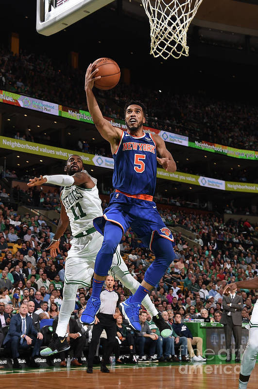 Nba Pro Basketball Art Print featuring the photograph Courtney Lee by Brian Babineau