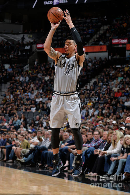 Nba Pro Basketball Art Print featuring the photograph Danny Green by Mark Sobhani