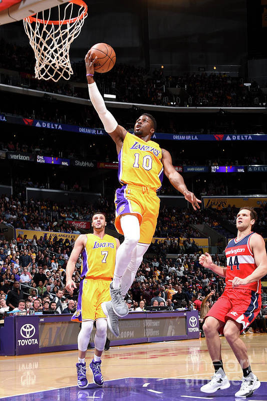 Nba Pro Basketball Art Print featuring the photograph David Nwaba by Andrew D. Bernstein