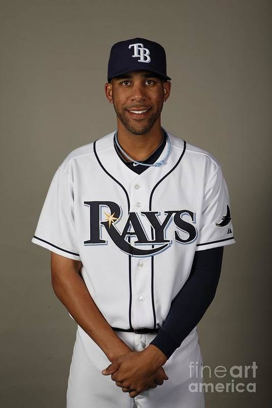Media Day Art Print featuring the photograph David Price by Robert Rogers