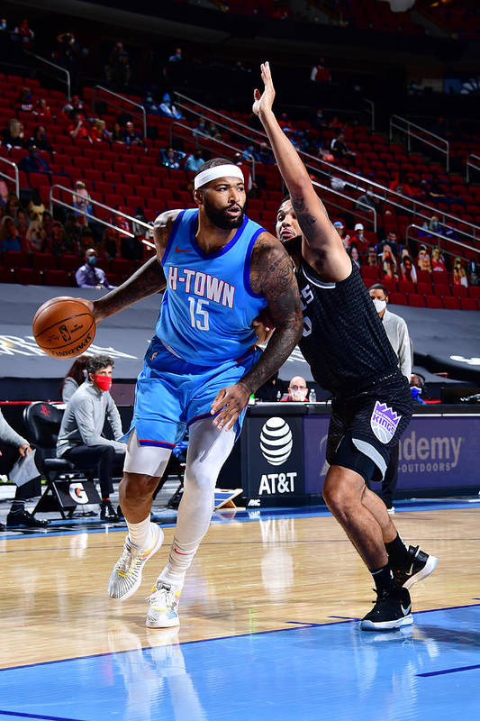 Nba Pro Basketball Art Print featuring the photograph Demarcus Cousins by Cato Cataldo