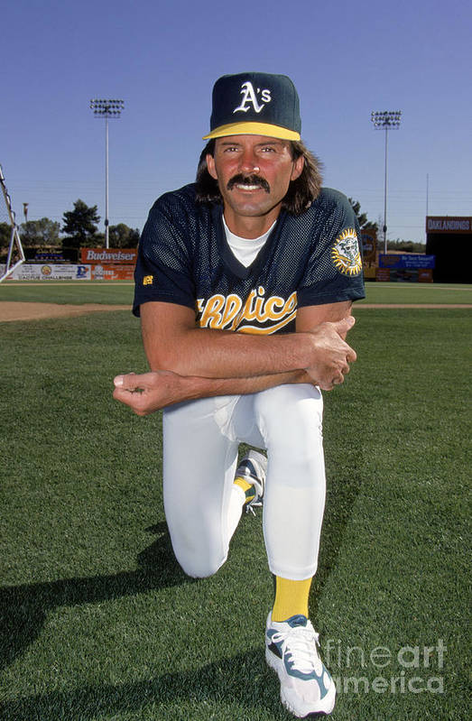 1980-1989 Art Print featuring the photograph Dennis Eckersley by Don Smith