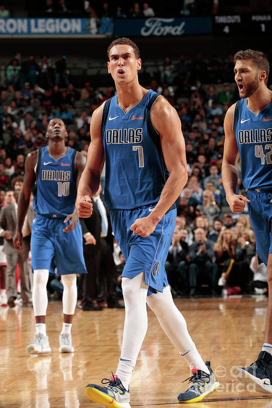 Dwight Powell Art Print featuring the photograph Dwight Powell by Glenn James