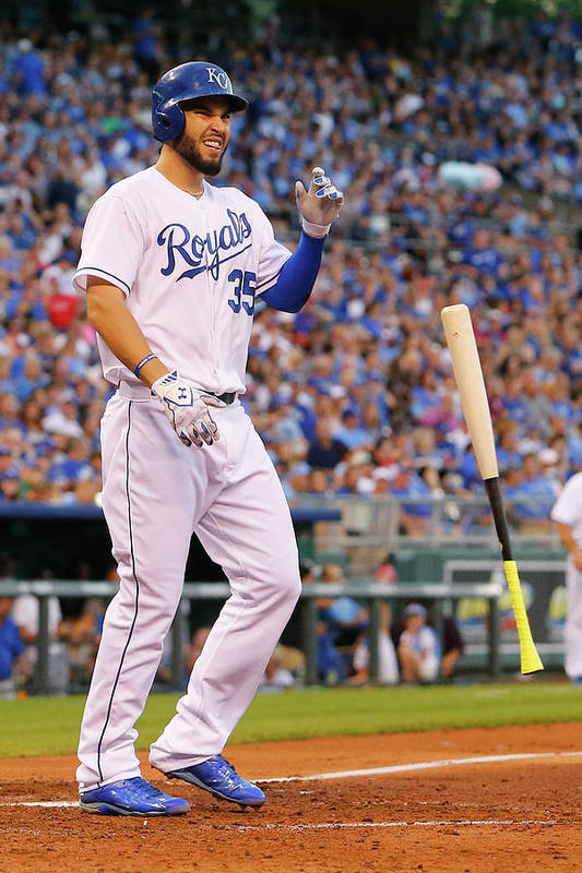 People Art Print featuring the photograph Eric Hosmer by Kyle Rivas