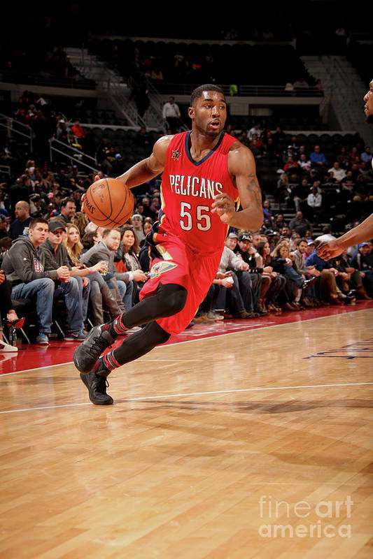 Nba Pro Basketball Art Print featuring the photograph E'twaun Moore by Brian Sevald
