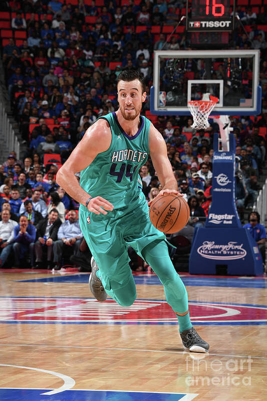 Nba Pro Basketball Art Print featuring the photograph Frank Kaminsky by Chris Schwegler