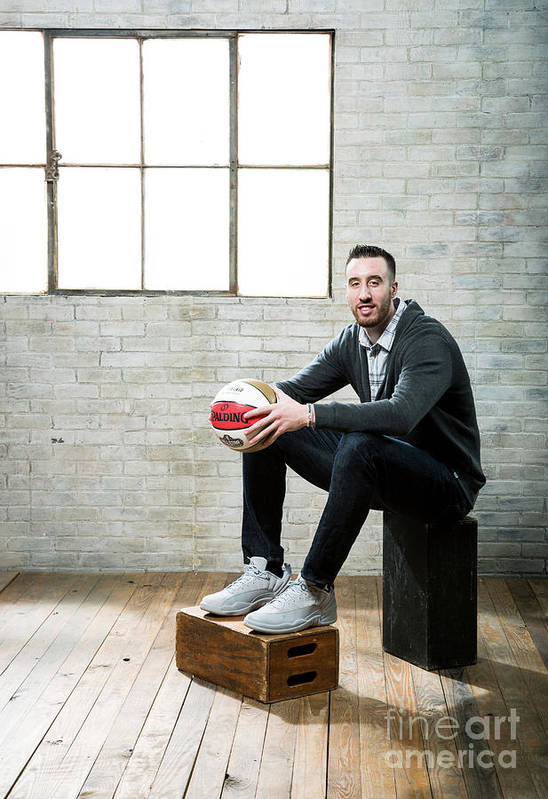 Nba Pro Basketball Art Print featuring the photograph Frank Kaminsky by Nathaniel S. Butler