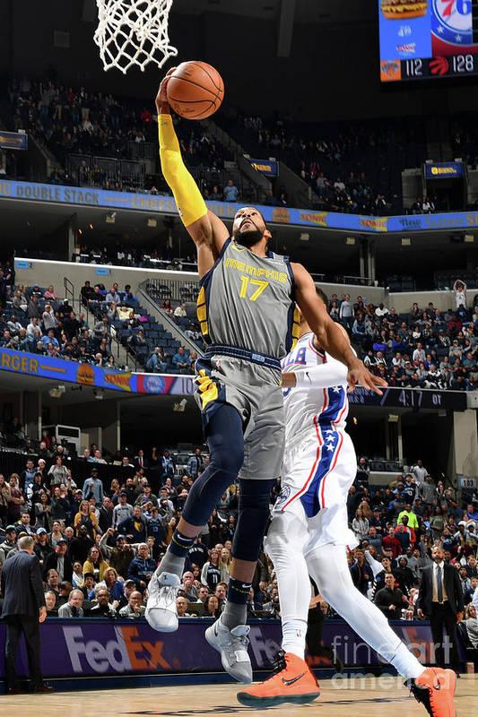 Nba Pro Basketball Art Print featuring the photograph Garrett Temple by Jesse D. Garrabrant