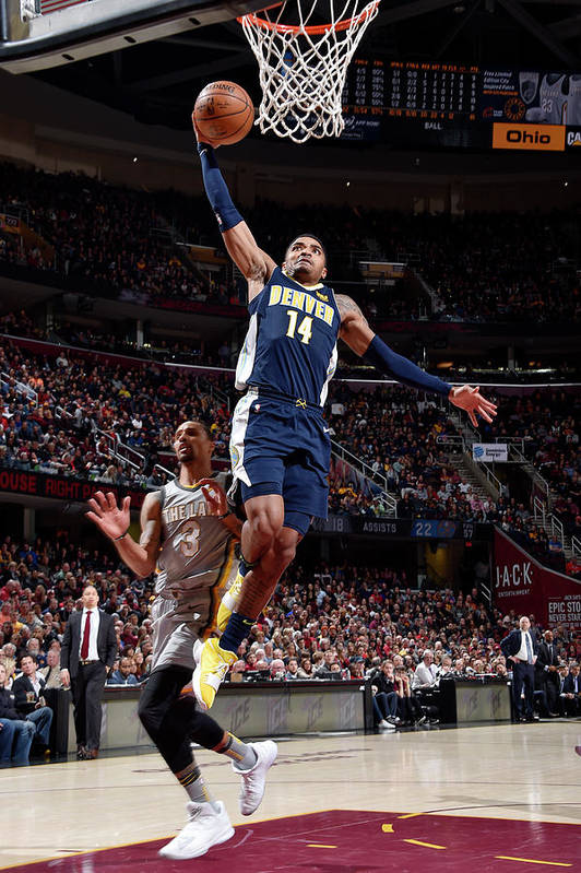 Nba Pro Basketball Art Print featuring the photograph Gary Harris by David Liam Kyle